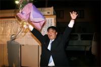 2007.4 統一地方選挙初当選!!