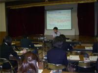 2007.12  ときわ福祉会職員研修にて