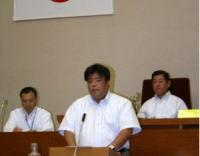 2008.09.02 9月議会、一般質問にたつ