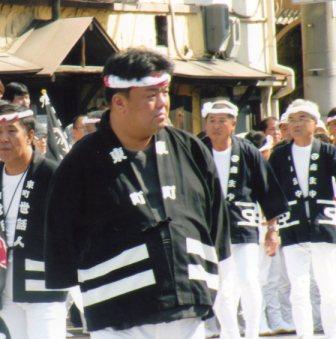 2009.10.10~11 地元だんじり祭りに参加しました。