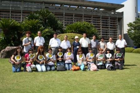 2010.8.26 台中市学生が表敬訪問に訪れました