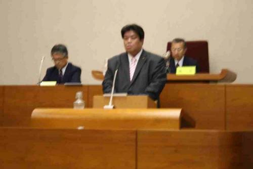 2010.5.31 副議長就任する。(本会議にて就任あいさつする)