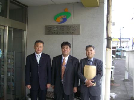 2011.11.8 安来市にて議会改革の取り組みについて視察を行う