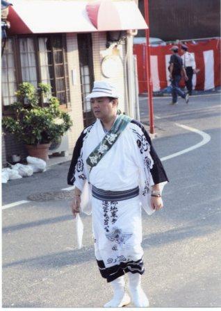2011.10.8~9 麻生郷地車祭運営委員会として南海貝塚駅前警備を担当しました