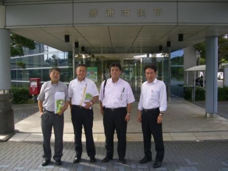2011.8.25 千葉県勝浦市にて「勝浦市きれいで住みよい環境づくり条例」についてレクチャーをうけました