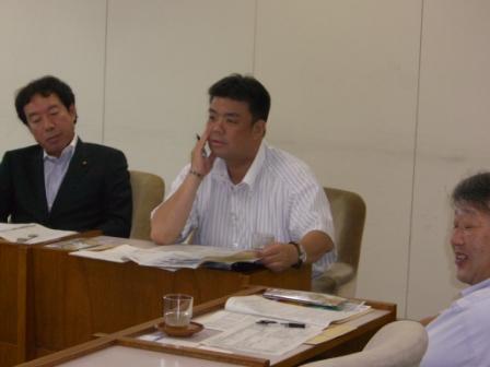2011.7.5 釧路市にて商店街の活性化についてレクチャーをうけました