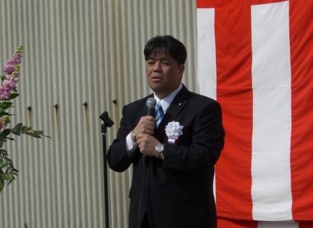 2011.3.6 南野敬介を支持する会事務所開きにて
