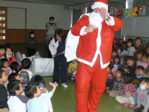 2009.12.18 ひがし保育園クリスマス会にて