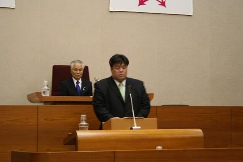 2009.11.30 第4回定例会にて一般質問を行いました。