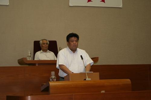 2009.6.11 第2回定例議会にて一般質問を行う