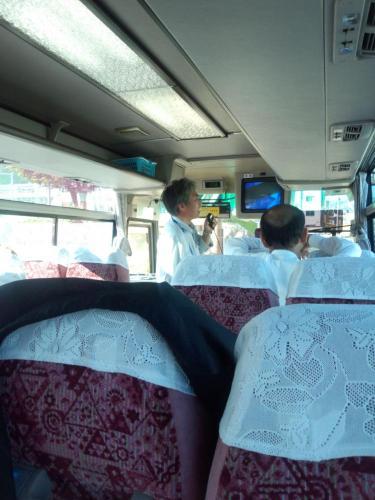 2012.10.22~23  案内いただいたのは、三陸鉄道㈱南リアス線運航部運転手の及川勝彦氏  震災以前は列車の運転手。  現在、復旧を待ちながら、案内役も行っています