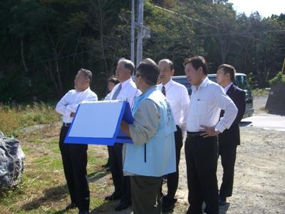 2012年10月岩手・宮城視察