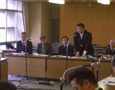 2013.1.21 静岡県富士市議会「市民クラブ」行政視察受け入れ