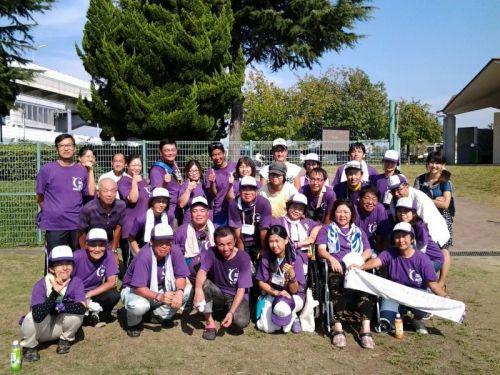 2013.9.21~22 リレー・フォー・ライフ・ジャパン2013大阪貝塚を成功させた実行委員のメンバーとともに