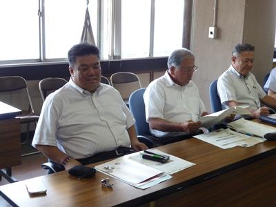 2014.7.15  厚生常任委員会視察に委員外委員として参加しました(相生市)