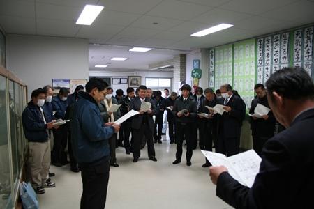 2015.2.10 永寿小学校校舎耐震工事完成視察