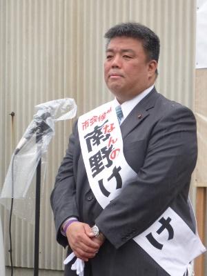 2015.4.19 貝塚市議会議員選挙第3期目の闘いがスタート