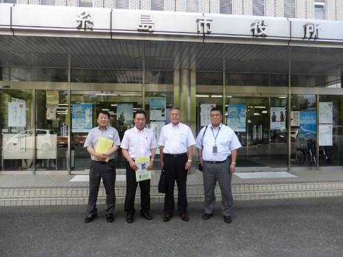2017.7.13 糸島市へ