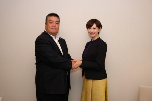 2018.11.12 亀石倫子参議院大阪選挙区予定候補と
