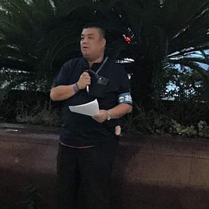 2019.9.5 連合大阪大阪南の取り組みで堺東駅での街頭行動