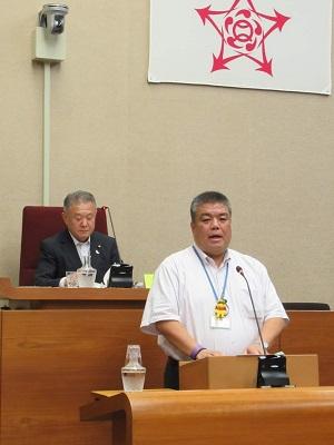 2019.9.27 第3回定例会にて会派を代表して反対討論