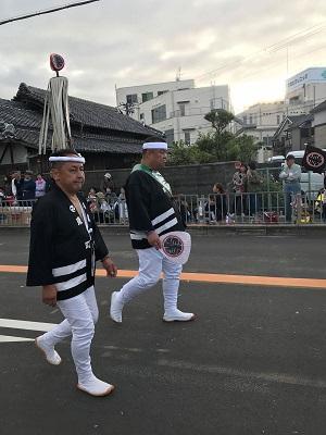 2019.10.13 だんじり祭りで激走(笑)