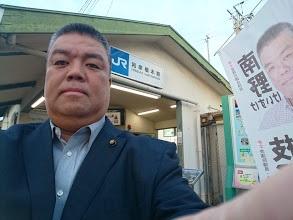 2019.10.17 JR和泉橋本駅でのご挨拶