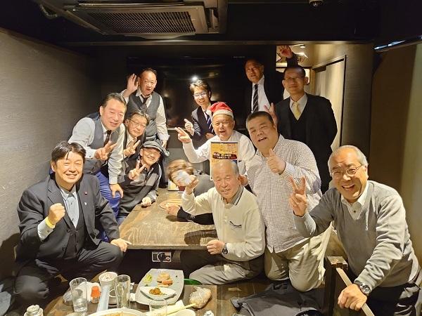 2019.12.25 友好会派との忘年会