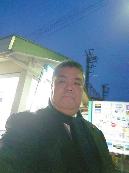 2019.12.26 JR和泉橋本駅にて朝のご挨拶