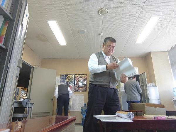 2019.12.26 会派控室の清掃(笑)