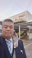 2021.3.30 南海貝塚駅西口北側で朝のご挨拶