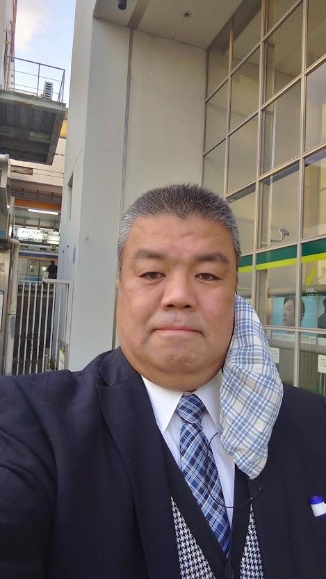 2021.4.6 南海貝塚駅西口南側にて朝のご挨拶
